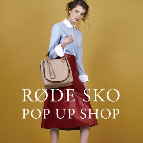 【SENSE OF PLACE by URBAN RESEARCH】RODE SKO POP UP SHOP