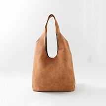 MARI スエード調くったりバッグ