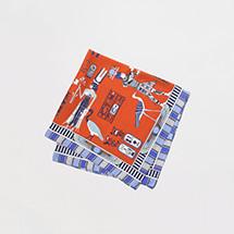 エジプトパターンスカーフ1