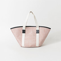 ANNIKA リネン風トートバッグ