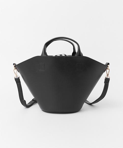 LUCINDA バスケット型バッグ