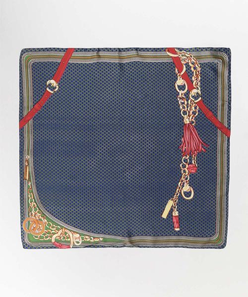 ベルト柄スカーフ